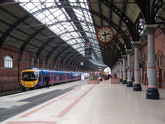 Darlington Railway Station, England