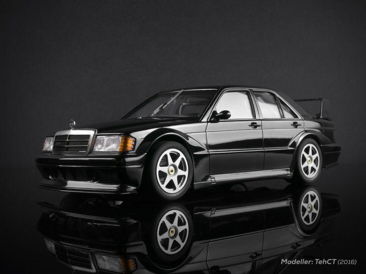 Mercedes benz 190e 2 5 16 evolution ii 1 24 scale built for Mercedes benz financial credit score
