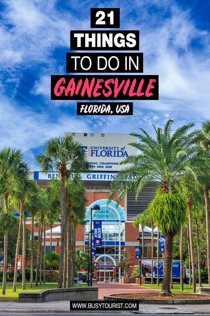 21 Fun Things To Do In Gainesville Florida Gainesville Florida Florida Fun Things To Do