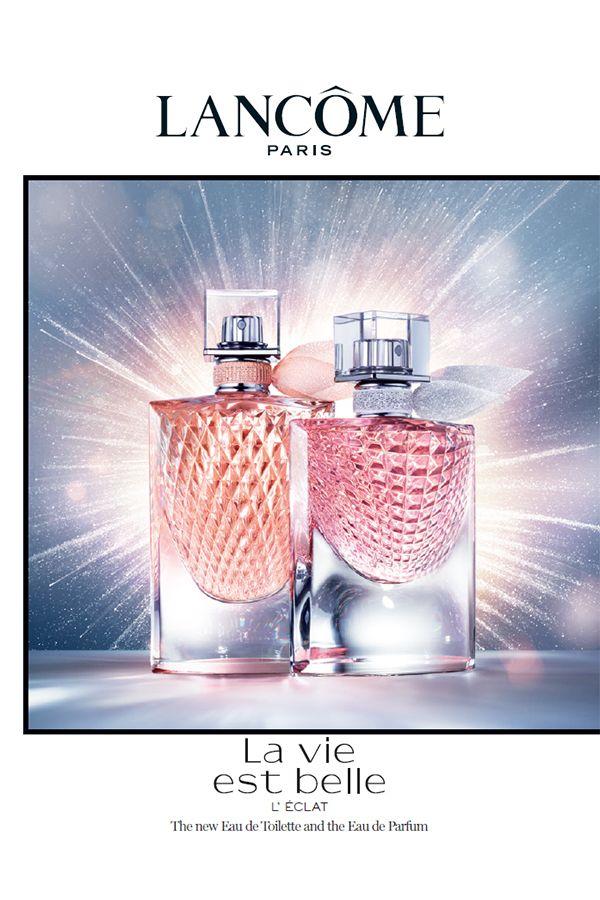 Discover Lancome S New Fragrance La Vie Est Belle Eclat Eau De Toillette La Vie Est Belle L Eclat Edt Highlights A M Perfume Beautiful Perfume Perfume Design