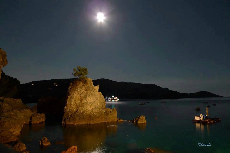 Paleokastritsa by night