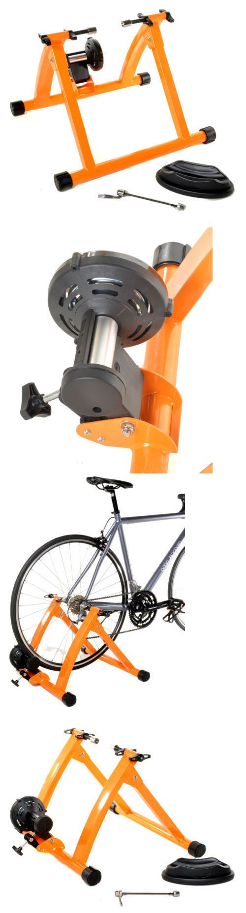 Trainers and Rollers 36141: Conquer Indoor Bike Trainer Portable Exercise Bicycle Magnetic Stand -> BUY IT NOW ONLY: $54.95 on eBay!
