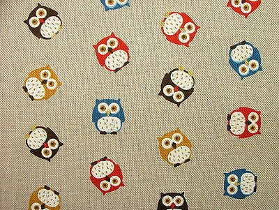 Curtains Ideas curtains birds theme : Natural Linen Look Cotton Fabric - Curtain Upholstery Blinds ...
