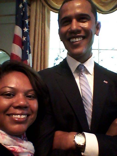Eu e Obama