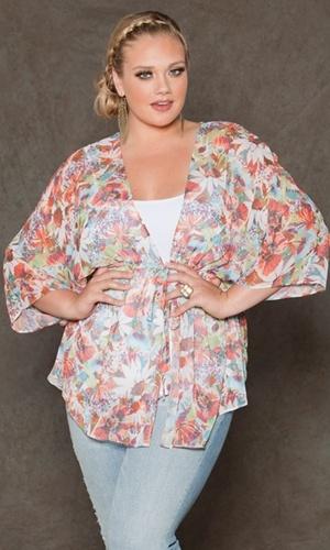 Paige Chiffon Kimono