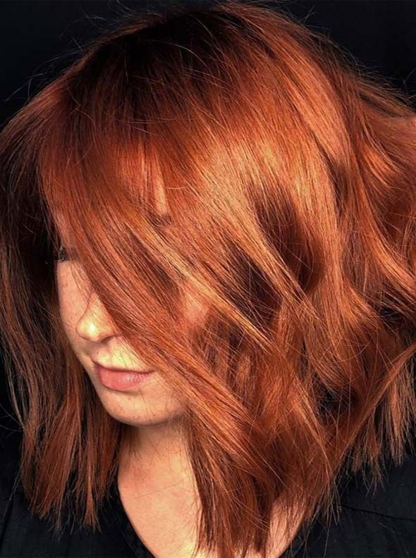 Latest Ideas Of Textured Red Bob Haircuts In 2018 2019 Hair I Like