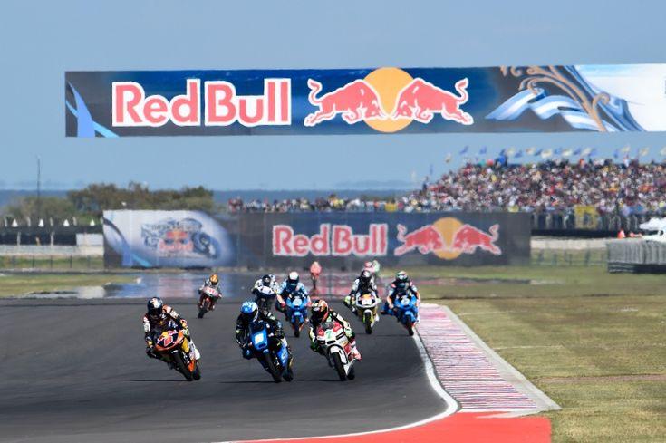 Miller, Fenati, Vazquez, Argentinian Moto3 Race 2014