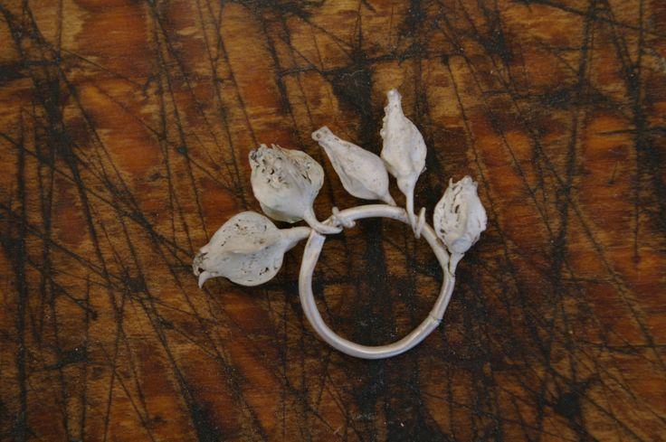 Ring, silver-Nikki Stott