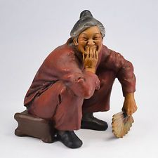 Buonaiuto The Little Company Laughing Ladies Series Resin Sculpture, Amah ed  in Collectibles, Decorative Collectibles, Figurines, People | eBay
