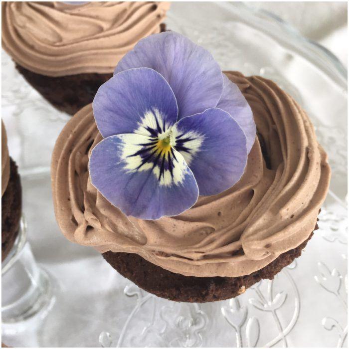Lidt sundere chokolademuffins -