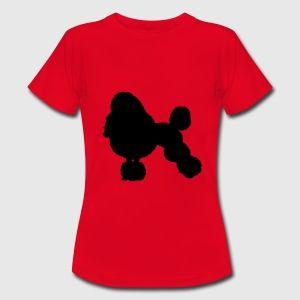 dog poodle T-shirts - Vrouwen T-shirt