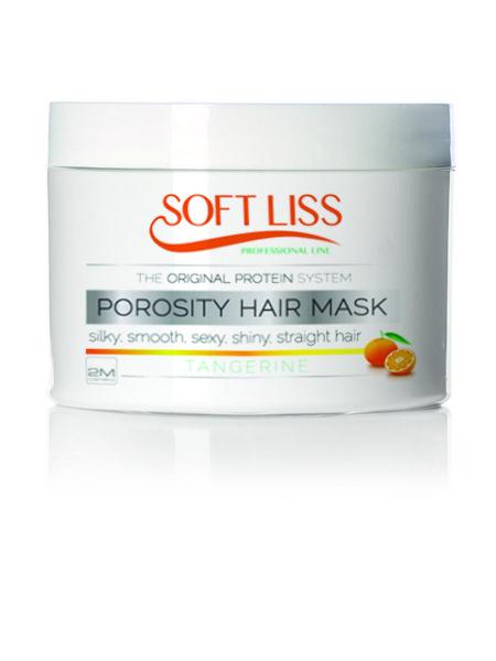 Het Porosity Hair Masker werkt met name vochtregulerend. Als het haar erg droog aanvoelt gebruik je het Porosity Hair Masker. Vooral gekleurd haar kan snel uitdrogen. Dit geweldige masker helpt de vochtbalans op peil te houden. Het haar wordt zachter, glanzender en gezonder dan ooit te voren. Dankzij de zijdeproteinen. Dit masker verlengd de levensduur van een keratinebehandeling.