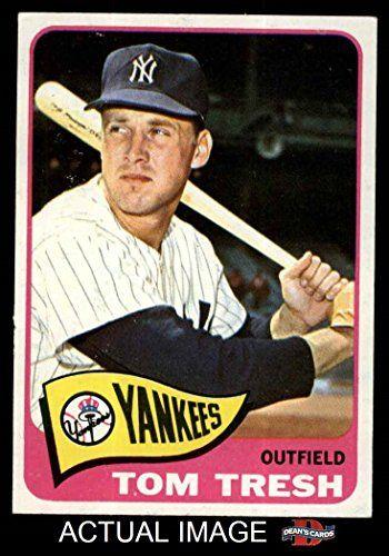 1965 Topps # 440 Tom Tresh New York Yankees (Baseball Card)  My first crush!!!!