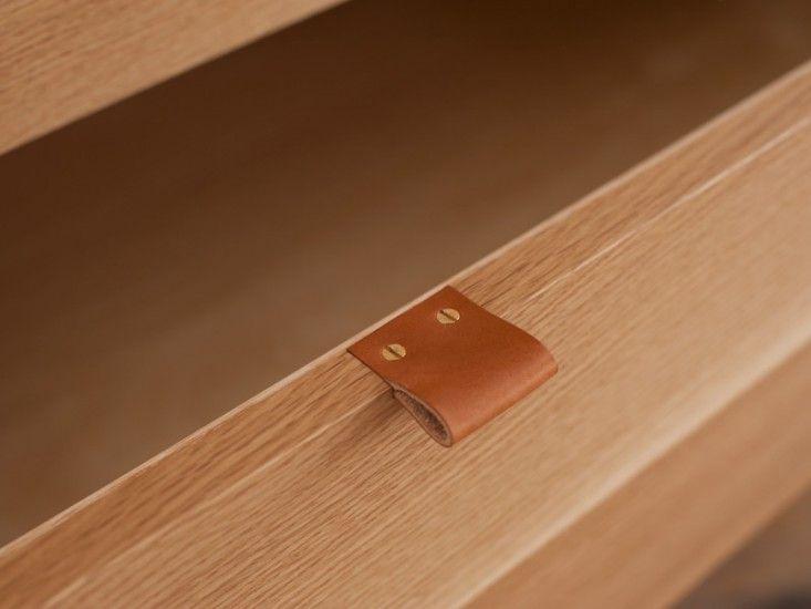 Benjamin Klebba/Phloem Studio Rahm Cabinet, Remodelista - dig the drawer pull