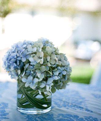 Arreglo Floral con Hortensias -- Fotogtafía: Sylvie Gil