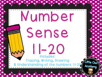 This FREE Product includes number sense pages for the numbers 1-10. It includes…