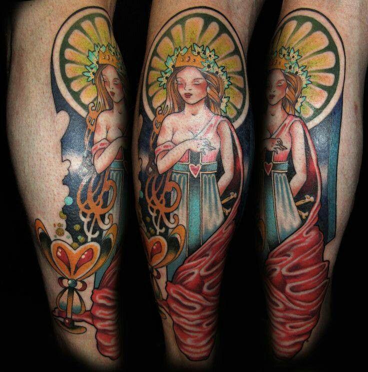 13 Best Tarot Card Tattoos Images On Pinterest