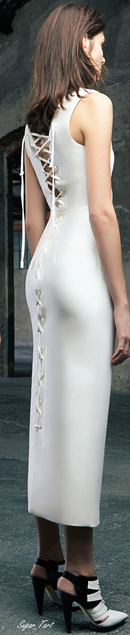 .Antonio Berardi - Resort 2015. Stunning dress! #avianti #aviantijewelry
