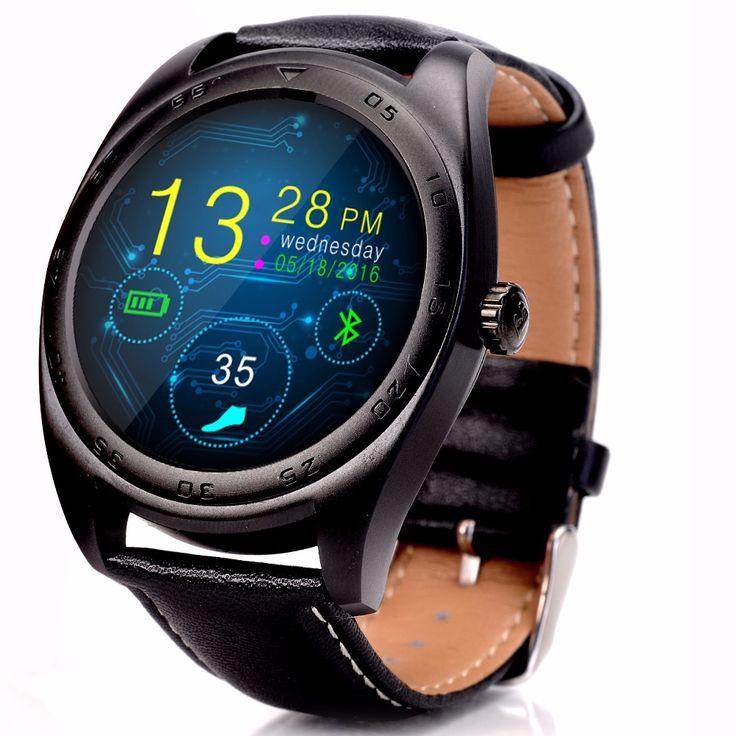 US 63.77 K89 Smart Watch Metal MTK2502C Heart Rate
