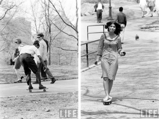 Le skate dans les sixties