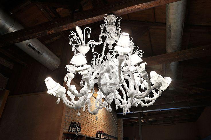 Melt Mee Heaven. Hand made murano glass chandelier