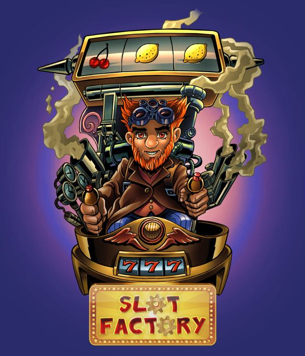 Slot Factory - Posters by Bitcube Media , via Behance