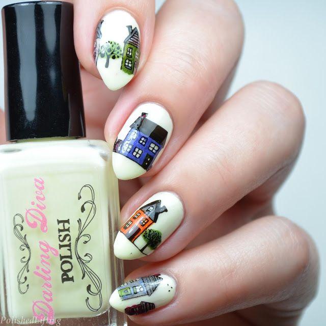 City Nail Art Featuring Moyou London City Nails Nail Art Nails