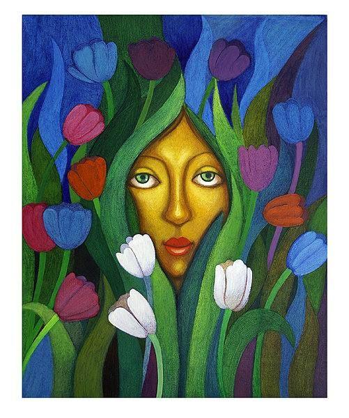 Fragrance of Life Acrylic painting https://www.facebook.com/SunitaPaintings
