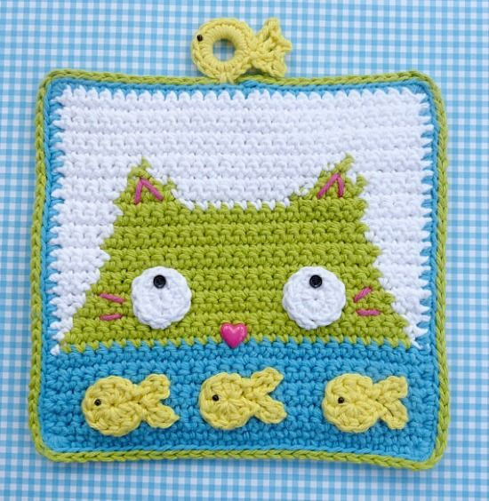 10 fun cat patterns!  Great for that winter project!