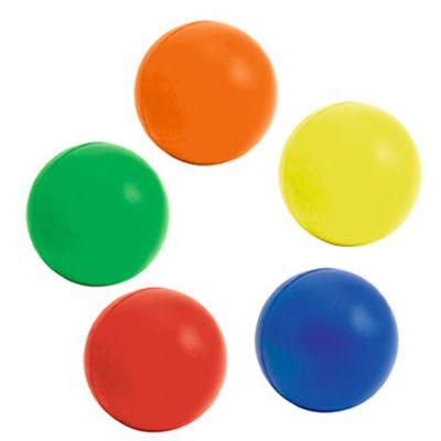 BOLA ANTIESTRÉS NEÓN 5 cm REF:DIV-458   Poliuretano.  Tipo de Producto: IMPORTADO.  Medidas: 5 cm diámetro.  Área de Marca: Máximo 3 cm de ancho.  Técnica de Marca: Tampografía.  Colores Disponibles: Amarillo, Azul, Naranja, Rojo y Verde Claro.