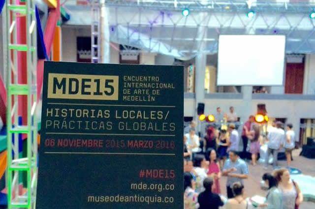 El domingo 4 de octubre fue realizada la Fiesta de lanzamiento del Encuentro Internacional de Arte de Medellín, MDE15