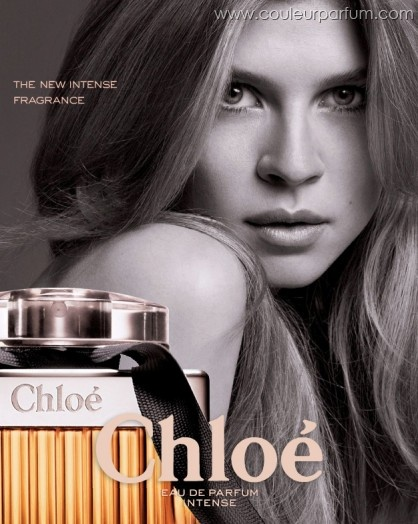 Clemence Poesy for Chloé Intense.