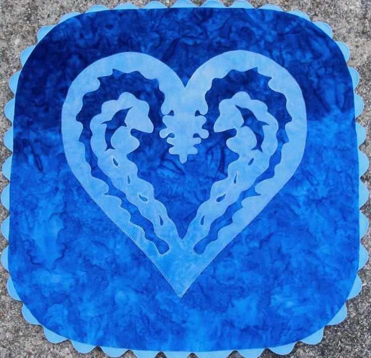 My Heart Belongs to Dolphins Pattern
