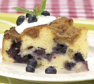 Fresh Blueberry Coffee Cake | Favorite Recipes | Pinterest