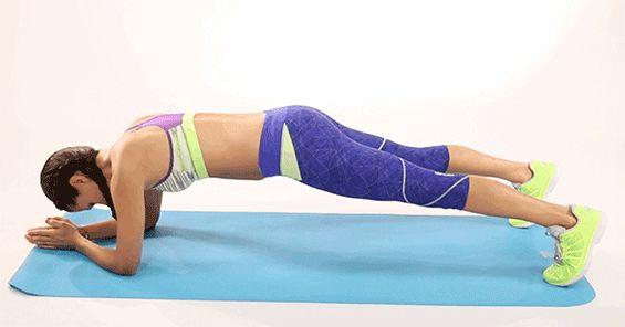 убираем жир с живота силовыми тренировками