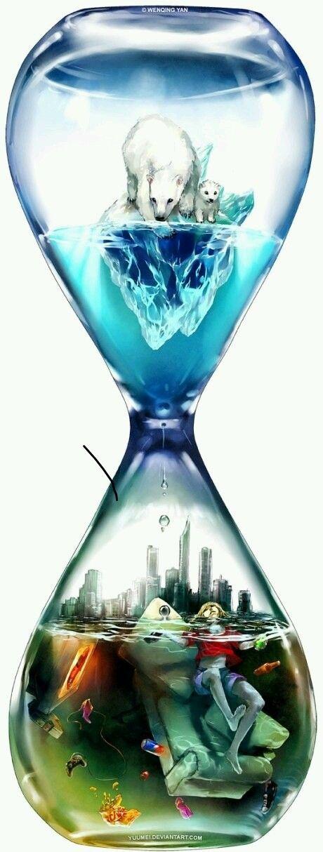 Hour Glass Art