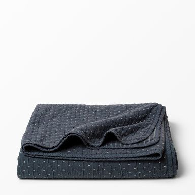 Överkast, 240x260 cm, marinblå
