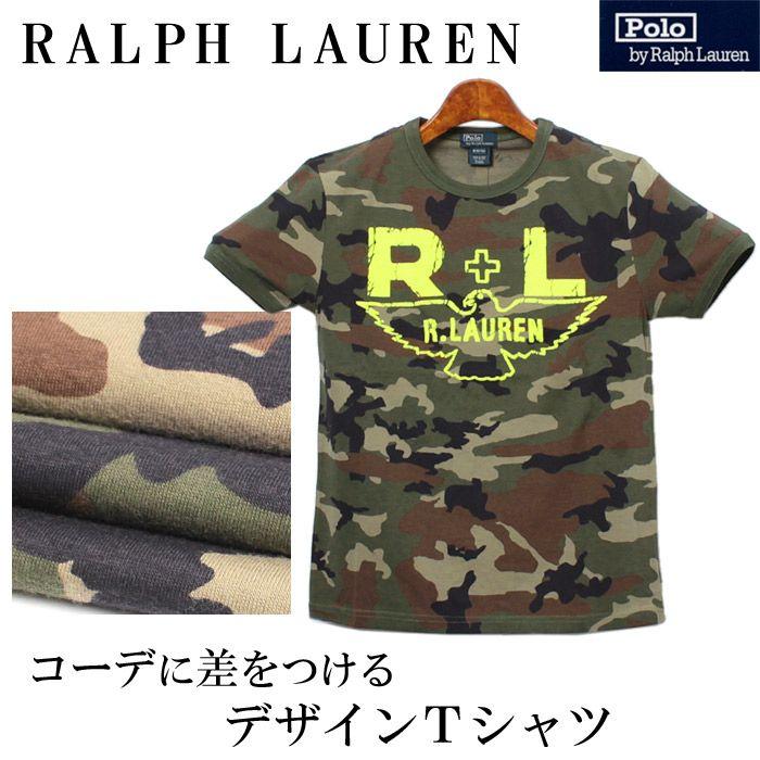 RALPH LAUREN ラルフローレン カモフラージュ Tシャツ   323 200131 6ZP 半袖クルーネック Uネック T-SHIRT カットソーボーイズ(男性用) 兼 レディース(女性用) (メール便可能)【楽天市場】