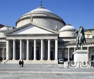 Neapol - Plac Plebiscytu / Piazza del Plebiscito, Naples
