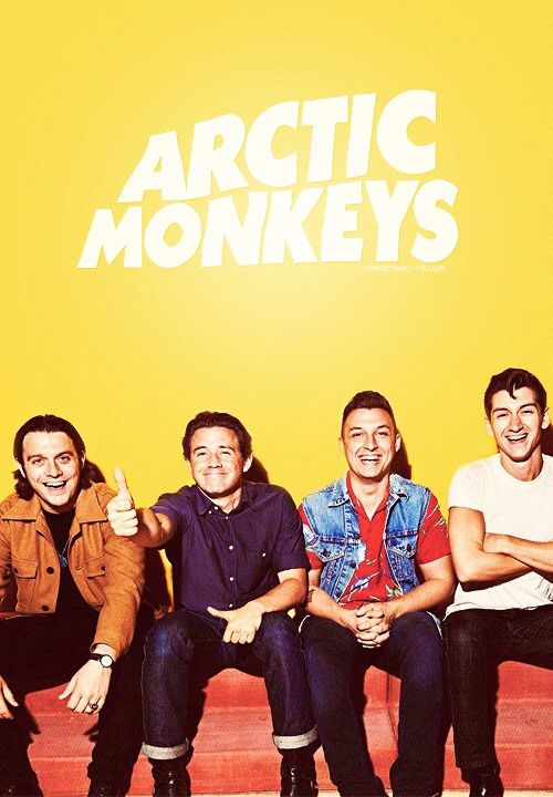 i don't know how or why but Arctic Monkeys can always cheer me up, no matter what.  I just realised that I have been a fan for over 10 years now and dear god. I can still find myself crying and laughing over old tunes as well as their new ones and to me, every song is just perfect. it feels like I always had their company while growing up, during the good times and the bad, and they still follow me everywhere I go. i can really say with all my heart that this band is the love of my life.