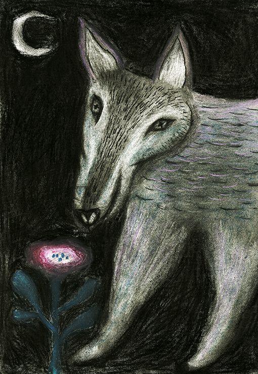Tetsuhiro Wakabayashi - wolf #illustration