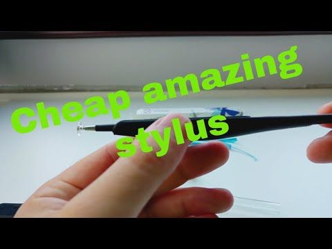 Why do we need a stylus? - review of the Cada stylus - YouTube