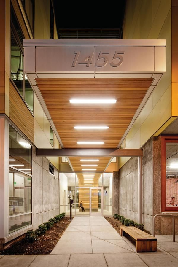 15 best Building entrance canopy lighting images on Pinterest