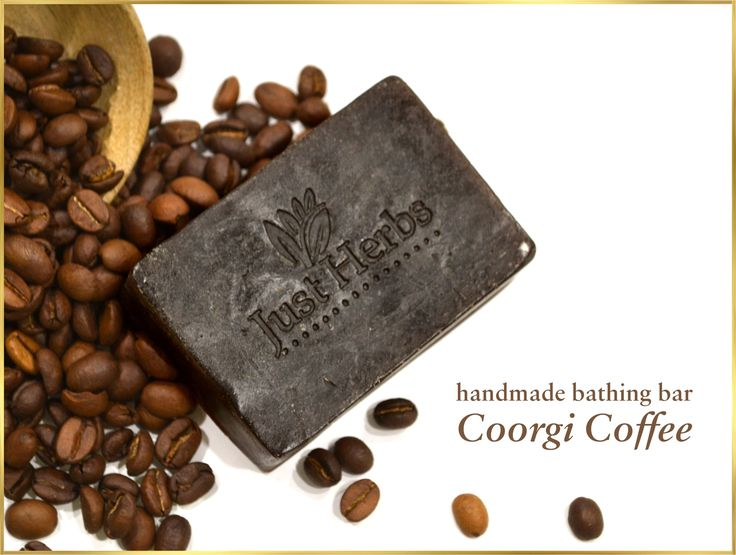 ☕☕Coffee lovers rejoice !! Our newly launched Coorgi coffee handmade bathing bar is enriched with raw coffee beans from the hilly slopes of coorg in southern India - home to one of the best coffee beans in the world. Coffee is also known to have anti oxidant properties and the ayurvedic texts list it as an anti-microbial plant. #coffeelovers #coorg #handmadesoap #coffeeaddict