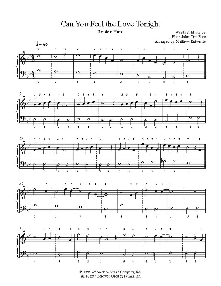 All Music Chords can you feel the love tonight sheet music : 65 best Everything Piano images on Pinterest | Sheet music, Piano ...