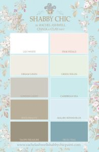 Shabby Chic® Paint by Rachel Ashwell color palette