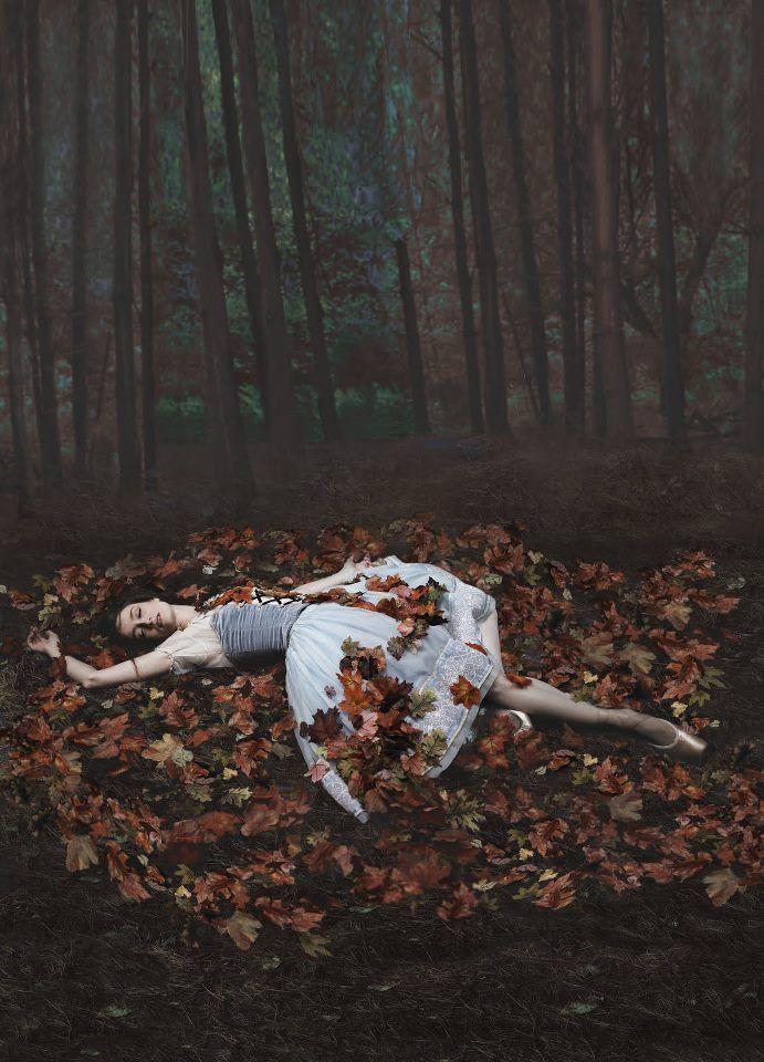 Julie Kent as Giselle, photo by Fabrizio Ferri.
