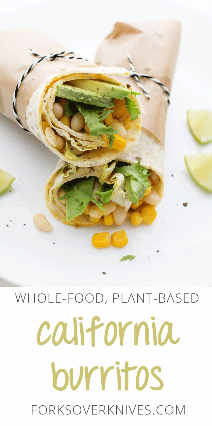 Filled with deliciously seasoned pinto beans, plus corn, lettuce, avocado, and salsa, this California-style vegan burrito recipe makes an easy...