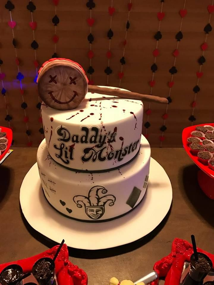 Harley Quinn cake / Arlequina bolo