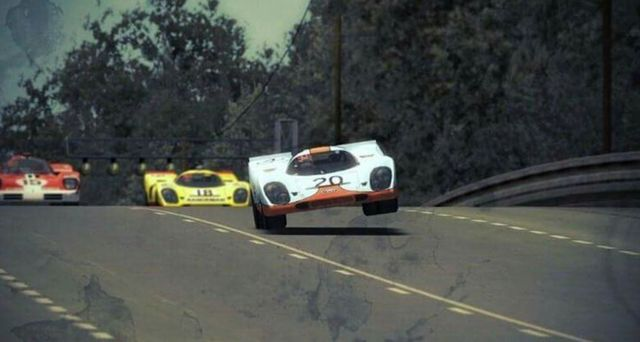 (20) Jo Siffert / Brian Redman - Porsche 917K - John Wyer Automotive Engineering Ltd. - (18) Gijs van Lennep / David Piper - Porsche 917K - Team A.A.W. - (15) Herbert Müller / Mike Parkes - Ferrari 512S - Scuderia Filipinetti - XXXVIII Grand Prix d´Endurance les 24 Heures du Mans - 1970 International Championship for Makes, round 8 - Challenge Mondial, round 4